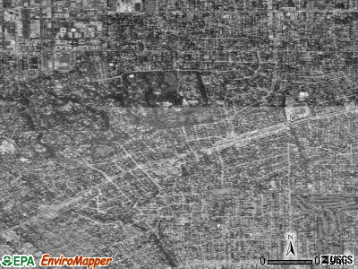 Zip code 91108 satellite photo by USGS