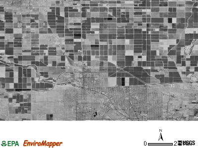 Zip code 92231 satellite photo by USGS
