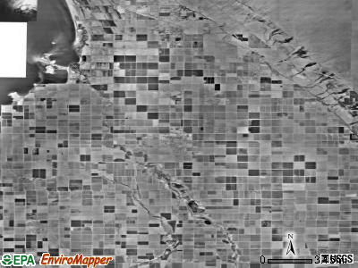 Zip code 92233 satellite photo by USGS