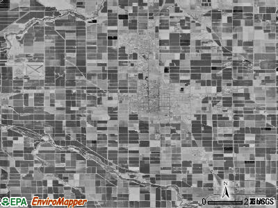 Zip code 92243 satellite photo by USGS