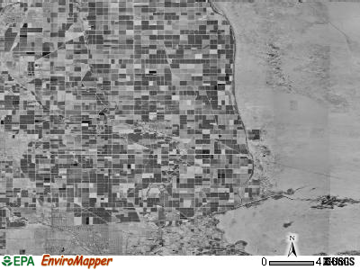 Zip code 92250 satellite photo by USGS
