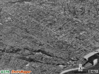 Zip code 93101 satellite photo by USGS