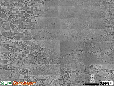 Zip code 93308 satellite photo by USGS