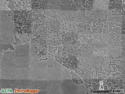 Zip code 93635 satellite photo by USGS