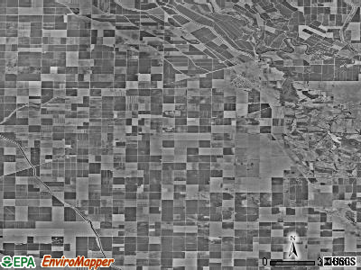 Zip code 93640 satellite photo by USGS