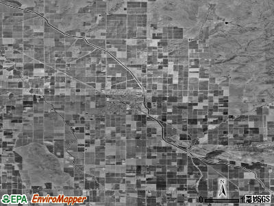Zip code 93646 satellite photo by USGS