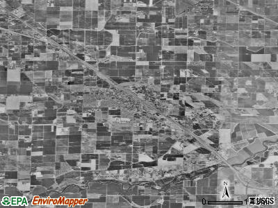 Zip code 95315 satellite photo by USGS