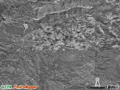 Zip code 95614 satellite photo by USGS