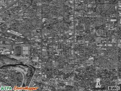 Zip code 95825 satellite photo by USGS
