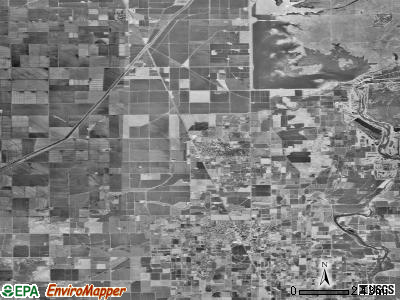 Zip code 95917 satellite photo by USGS