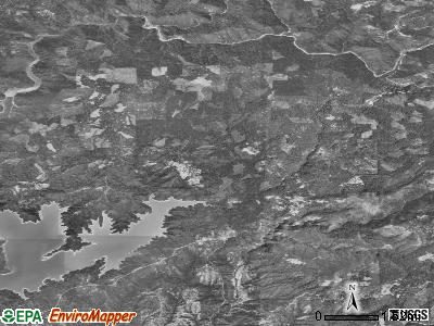 Zip code 95922 satellite photo by USGS