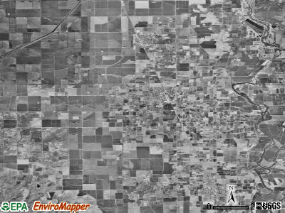 Zip code 95948 satellite photo by USGS