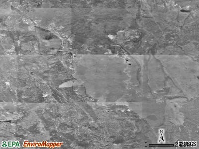 Zip code 96040 satellite photo by USGS