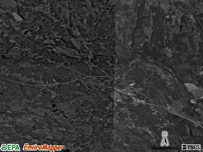 Zip code 12413 satellite photo by USGS