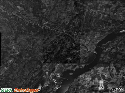 Zip code 12414 satellite photo by USGS