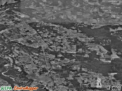 Zip code 97022 satellite photo by USGS