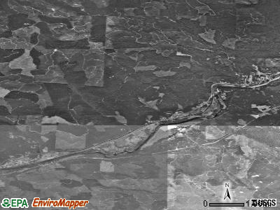 Zip code 97489 satellite photo by USGS