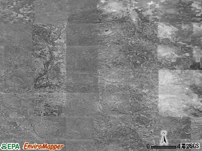 Zip code 97524 satellite photo by USGS