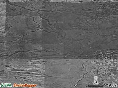 Zip code 97761 satellite photo by USGS