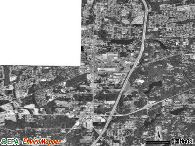 Zip code 98003 satellite photo by USGS