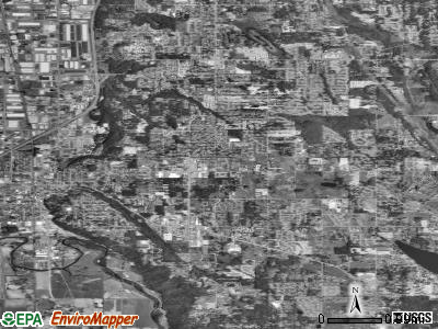 Zip code 98031 satellite photo by USGS