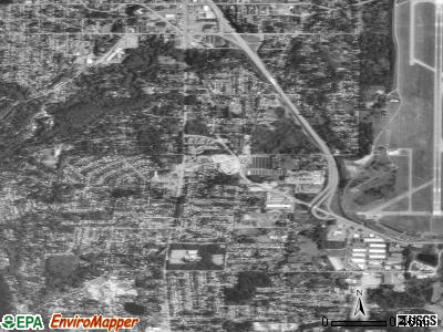 Zip code 98148 satellite photo by USGS