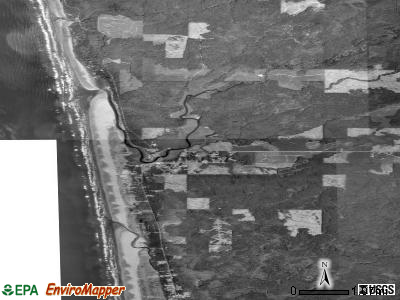Zip code 98535 satellite photo by USGS