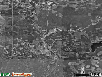 Zip code 98611 satellite photo by USGS