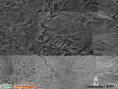 Zip code 98849 satellite photo by USGS