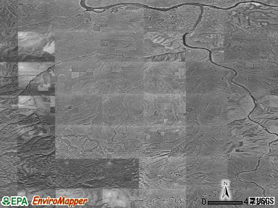 Zip code 99402 satellite photo by USGS