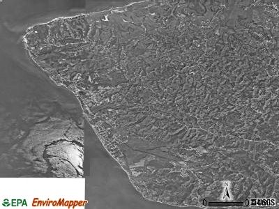 Zip code 00677 satellite photo by USGS