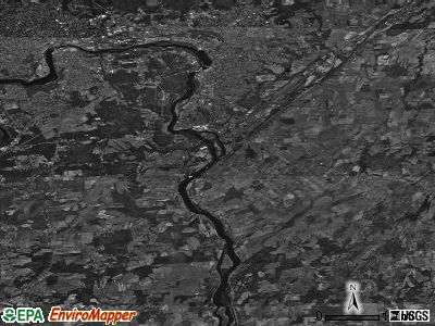 Zip code 12828 satellite photo by USGS