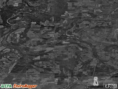 Zip code 14846 satellite photo by USGS