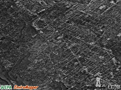 Zip code 19119 satellite photo by USGS