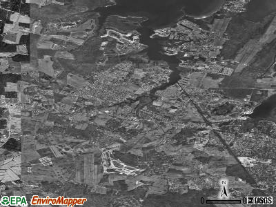 Zip code 19970 satellite photo by USGS