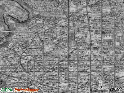 Zip code 20009 satellite photo by USGS