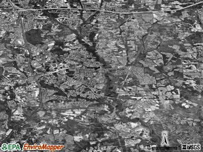 Zip code 20774 satellite photo by USGS