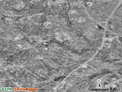 Zip code 20912 satellite photo by USGS