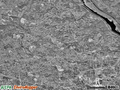 Zip code 22207 satellite photo by USGS