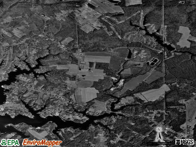 Zip code 22480 satellite photo by USGS