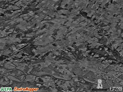 Zip code 22642 satellite photo by USGS