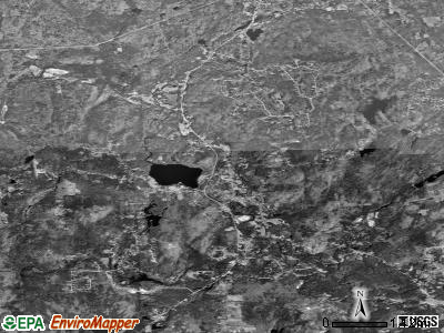 Zip code 03033 satellite photo by USGS