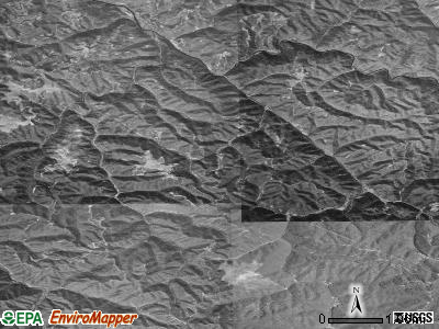 Zip code 24220 satellite photo by USGS