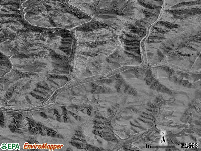 Zip code 25920 satellite photo by USGS