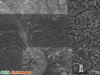 Zip code 26047 satellite photo by USGS