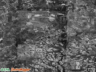Zip code 27540 satellite photo by USGS