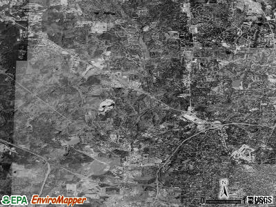 Zip code 27612 satellite photo by USGS
