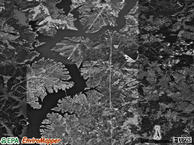 Zip code 28278 satellite photo by USGS