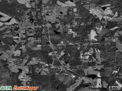 Zip code 28368 satellite photo by USGS