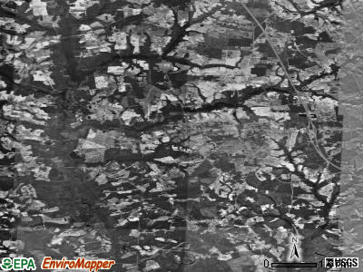 Zip code 28393 satellite photo by USGS